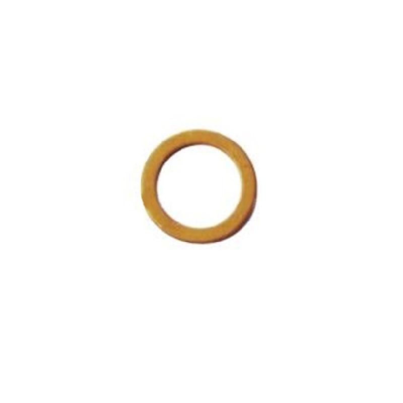 Кольцо медное A14x20  DIN7603