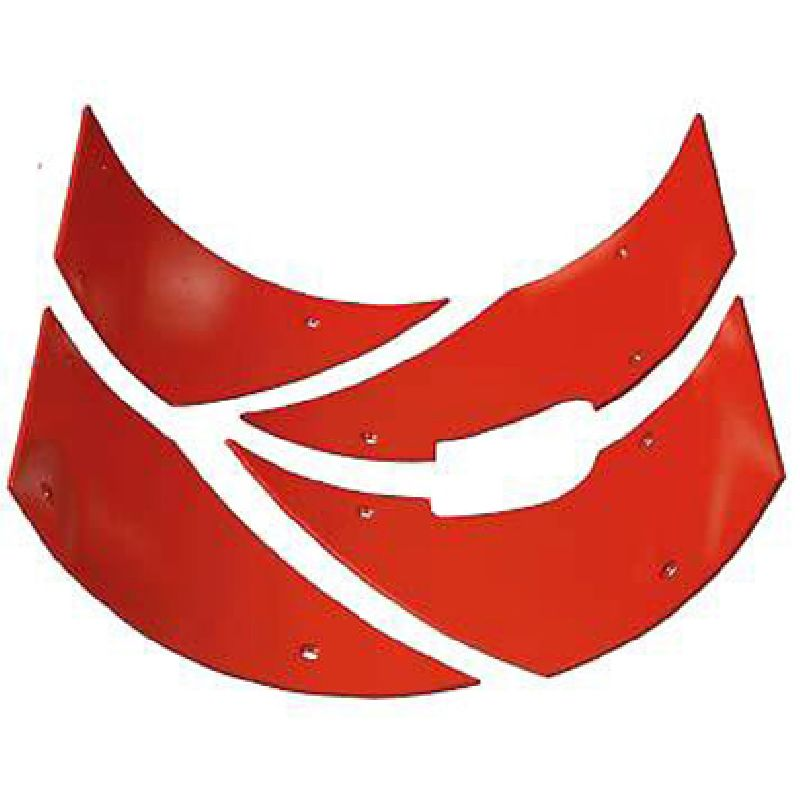 Комплект защитных пластин А1/2 центр.выход