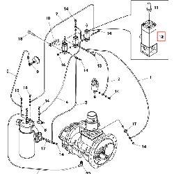 3/2-Магнитный воздушный клапан 12В (1827414017)