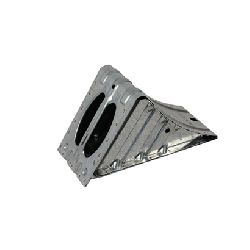 Металлический башмак-фиксатор под колесо