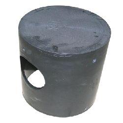 Горшок резиновый для гасителя EB83 D250 H250