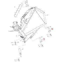 Болт 30H6x81-9 крепления скипа
