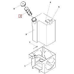 Фильтрующая сетка топливного бака