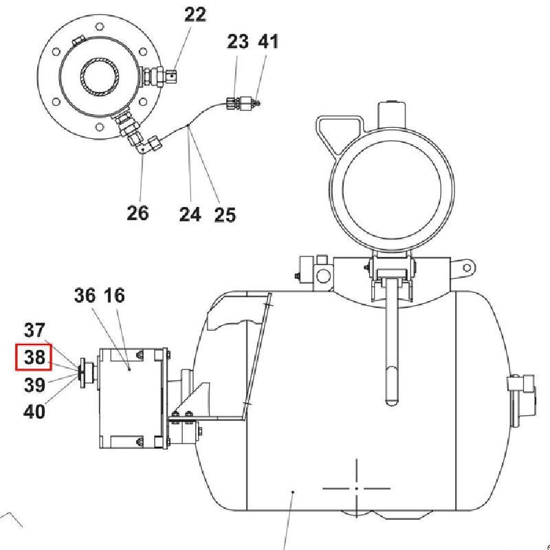 Фланец полумуфты редуктора 88,5х4х40