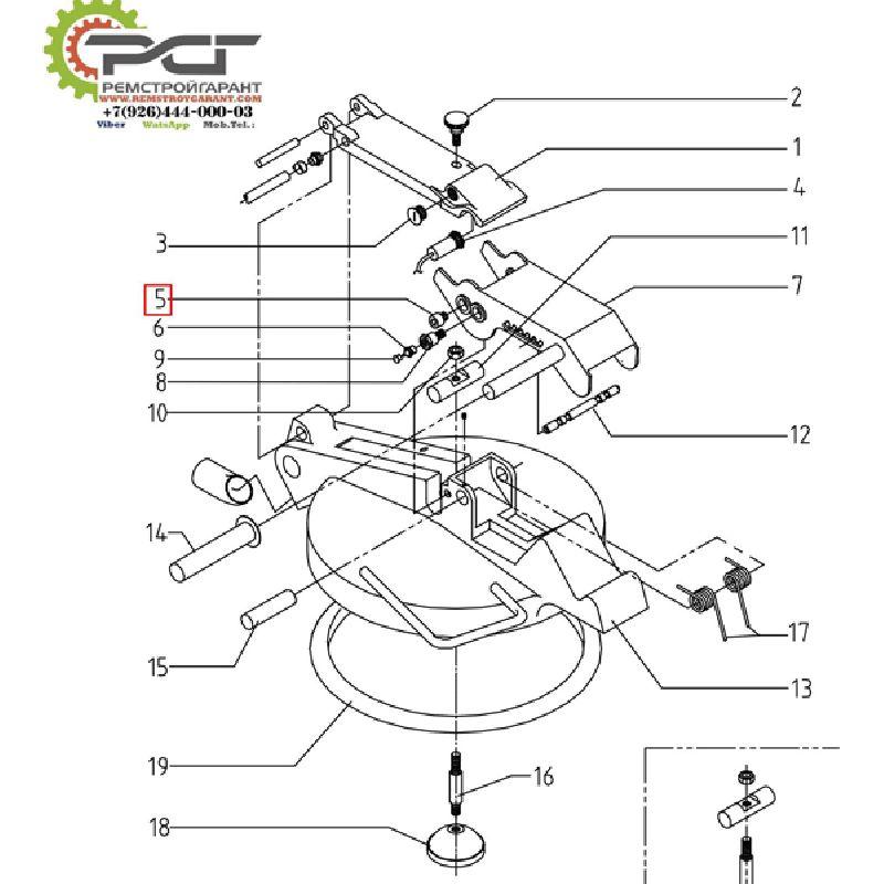 Винт с цилиндрической головкой M10x16 DIN 912/ISO 4762