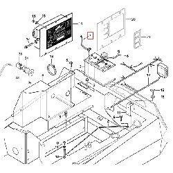 Кабель минусовой клемы аккумулятора