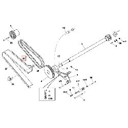 Клиновой ремень привода XPA1432 LW DIN 7753