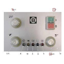 Кнопка с фиксацией Typ ZB4 BH