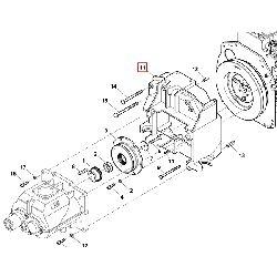Корпус крепления компрессора