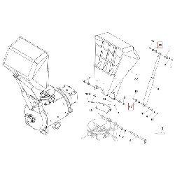 Рез. прокладка на оси скипа 45x34,5x10