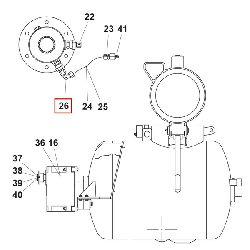 Резьбовое угловое соединение K-EWV 8L