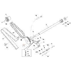 Шкив ремня привода 2-2xSP A DW=224