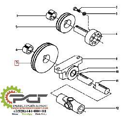 Шкив ремня привода смесителя TL 200х2 SPA