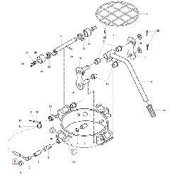 Шланг NW8 - защитный кожух кабеля датчика крышки бочки