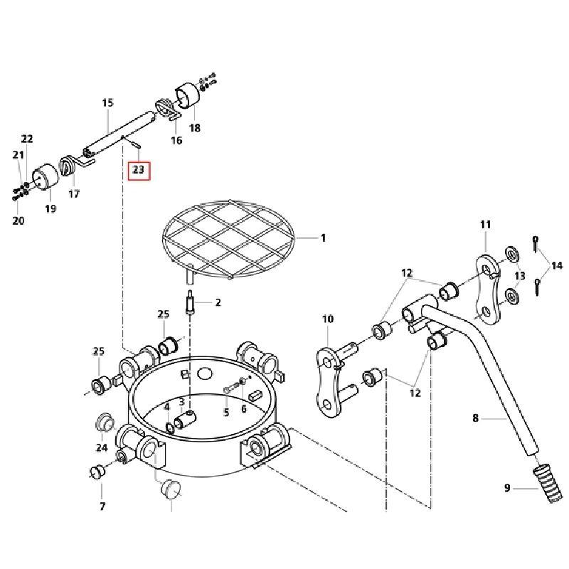Шплинт 10x40 DIN 1481 ISO 8752
