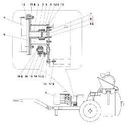 Шпонка В12x8x38 DIN 6885