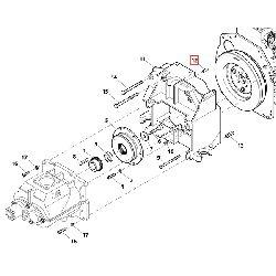 Штифт корпуса крепления компрессора