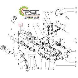 Воздушный шланг NW 35x8 LFM S8 40 Bar